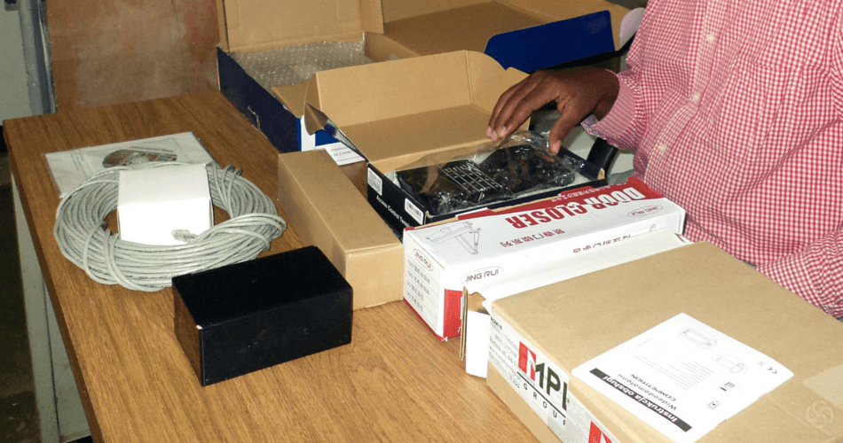 Eksport - wysyłanie próbek