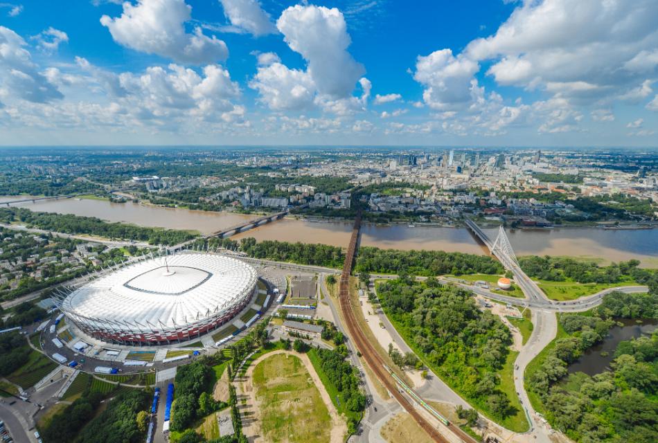 stadion narodowy w polsce