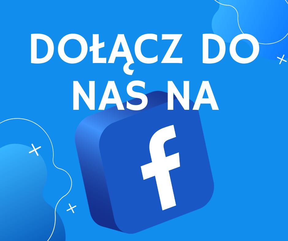 "grafika ""dołącz do nas na facebooku"""
