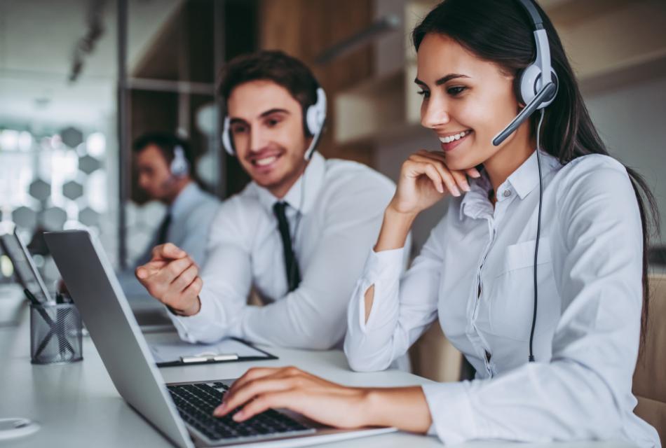 Telefoniczny kontakt z zagranicznymi klientami