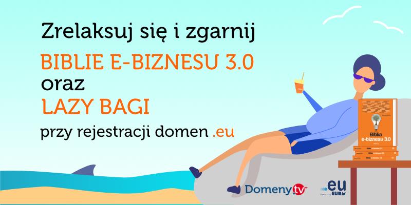 Wakacyjna promocja na domeny .eu dla przedsiębiorców